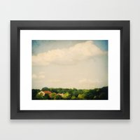 Settled Framed Art Print