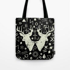 Punk pattern Tote Bag