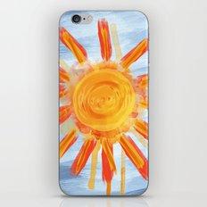 Sunshine Painting iPhone & iPod Skin