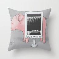 Saving Money Throw Pillow