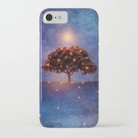 lights iPhone & iPod Cases featuring Energy & lights by Viviana Gonzalez