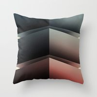 Color Cube Throw Pillow