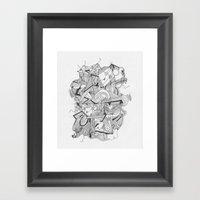 Art of Geometry 3 Framed Art Print