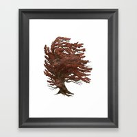 Winter came early that year 2/3 Framed Art Print