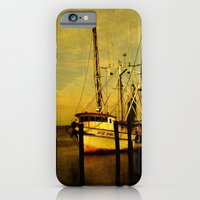 iPhone & iPod Case featuring Rosa Marie is back in the Harbor by Susanne Van Hulst