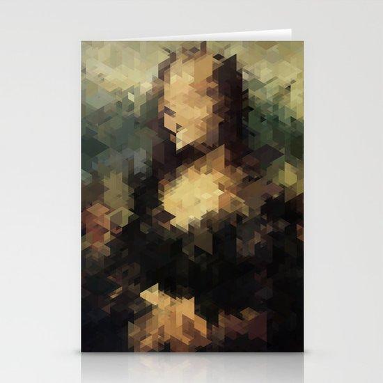 Panelscape Iconic - Mona Lisa Stationery Card
