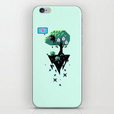 Greedy Grackle iPhone & iPod Skin