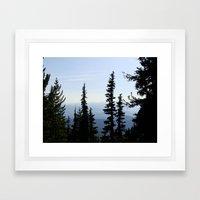 Mt. Adams Wilderness Framed Art Print