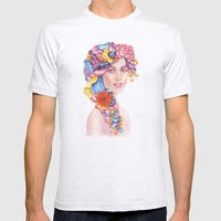 Goddess : Flora Mens Fitted Tee Ash Grey SMALL