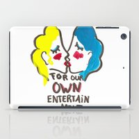 we are lesbians for our own entertainment iPad Case