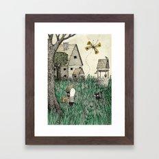 'Overgrown' Framed Art Print