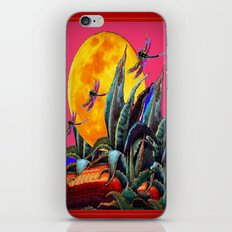 Surreal Dragonflies Pink… iPhone & iPod Skin
