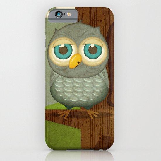 Fat Little Owl iPhone & iPod Case