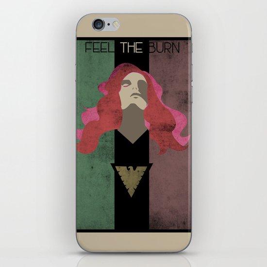Feel The Burn iPhone & iPod Skin