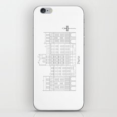 Untapped Paris iPhone & iPod Skin