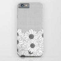 Daisy Grid iPhone 6 Slim Case