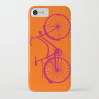 bicycle iPhone & iPod Cases featuring Bicycle by Mr and Mrs Quirynen