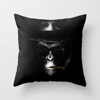 Like A Boss! Throw Pillow