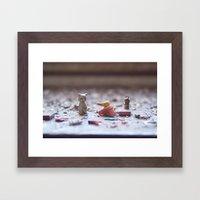 lethal cuteness Framed Art Print