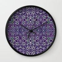 Edwardian Garden Wall Clock