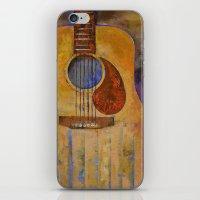 Acoustic Guitar iPhone & iPod Skin
