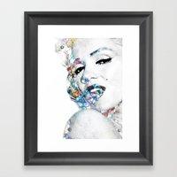 Marilyn Monroe (NOW WITH… Framed Art Print