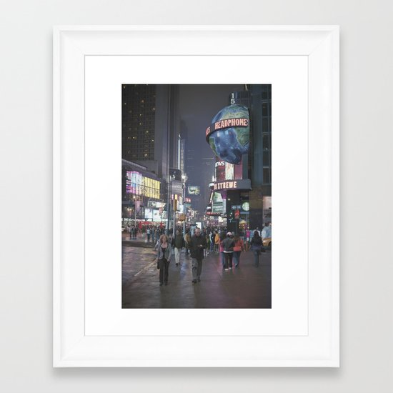 it's not even square... Framed Art Print