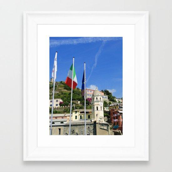 Town 2 Framed Art Print