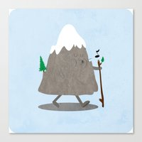 Lil' Hiker Canvas Print