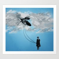 Defying Gravity Art Print