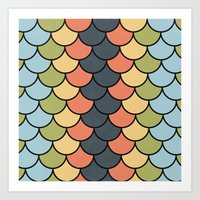 Modern Blend Art Print