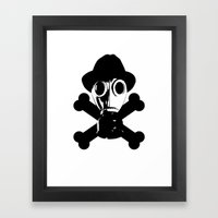 Man in the Mask Framed Art Print