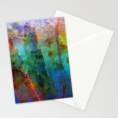 Abstract Texture 05 Stationery Cards