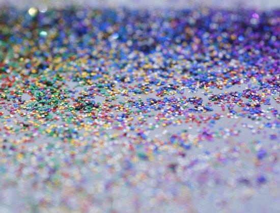 Glitter Art Print