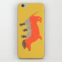 Taxi-Dog (yellow) iPhone & iPod Skin