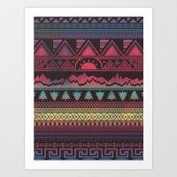 Autunno | Tribal Art Print