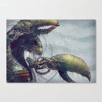 Zodiac Sign: Cancer Canvas Print
