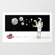 Big Bubble Theory Art Print