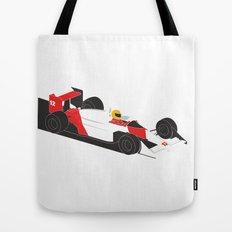 The Senna - McLaren MP4/4  Tote Bag