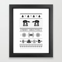 May the Christmas Spirit be with you. Framed Art Print