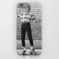 iPhone & iPod Case featuring Did I Do That? (Steve Urkel dropping a Han dynasty urn) by Emanuel Adams