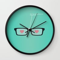 You Fog My Spectacles Wall Clock