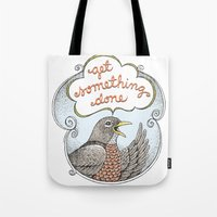 Get Something Done Tote Bag