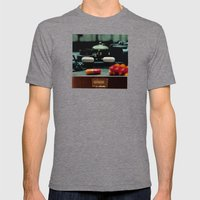 Sustained Release Mens Fitted Tee Tri-Grey SMALL