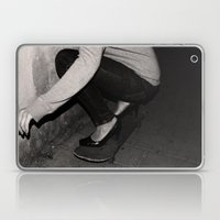 skateboarding girl Laptop & iPad Skin