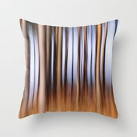 Abstract Throw Pillow