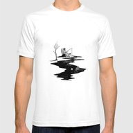 T-shirt featuring Fishing Moon River by Bimorecreative