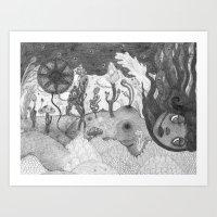 The Daughter Of Nature Art Print