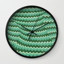 kiss your zig zag Wall Clock