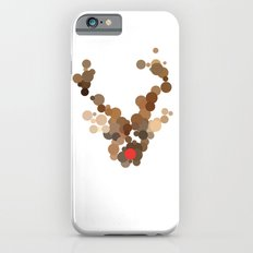 Dotted Rudolph face iPhone 6 Slim Case